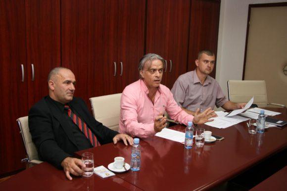 Работна средба со Министерот за Внатрешни Работи Оливер Спасовски