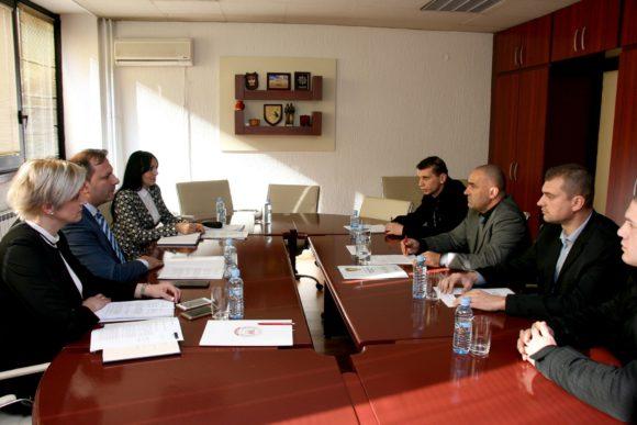 Работен состанок со Министерот за Внатрешни Работи