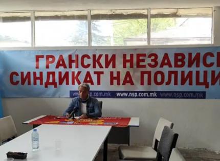 Прес конференција на Марјан Ристески, претседател на КСОМ, повик за протест!