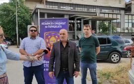 Прес конференција на претседателот Гоце Делчев Тодев, во врска со изоставувњето на полицијата по основ на К-15.